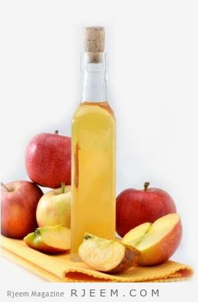 Photo of وصفات خل التفاح الجمالية