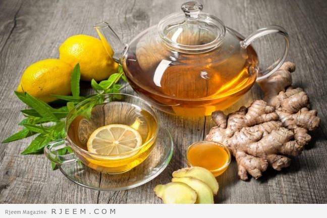 Photo of الشاي الاخضر والزنجبيل للتنحيف