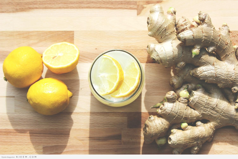 Photo of الزنجبيل والليمون لحرق الدهون