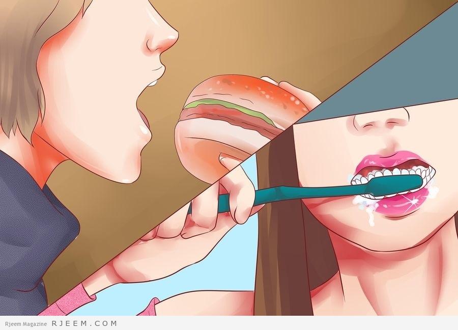 Photo of اطعمة تسبب اصفرار الاسنان