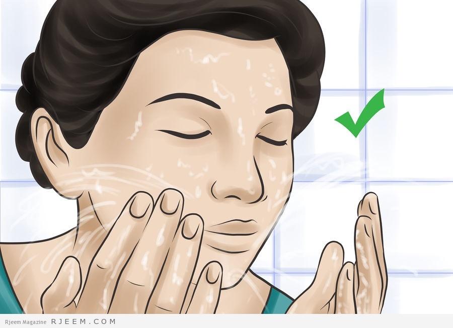 Photo of طريقة تنظيف الوجه