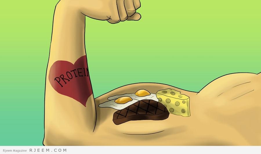 Photo of اطعمة تساعدك على بناء العضلات