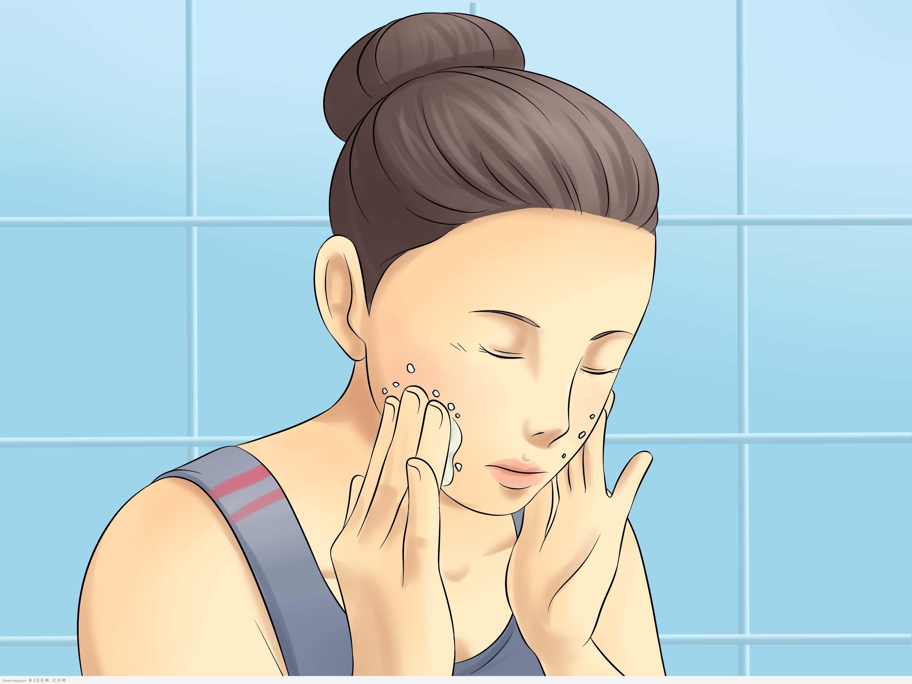 طرق طبيعية للتخلص من دهون الوجه والرقبة