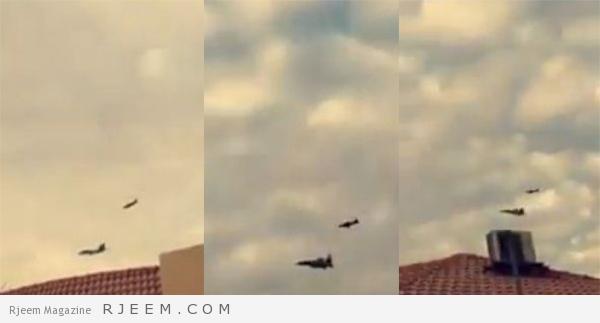 Photo of فيديو: تدريبات عسكرية تنفّذها طائرات حربية في سماء الرياض