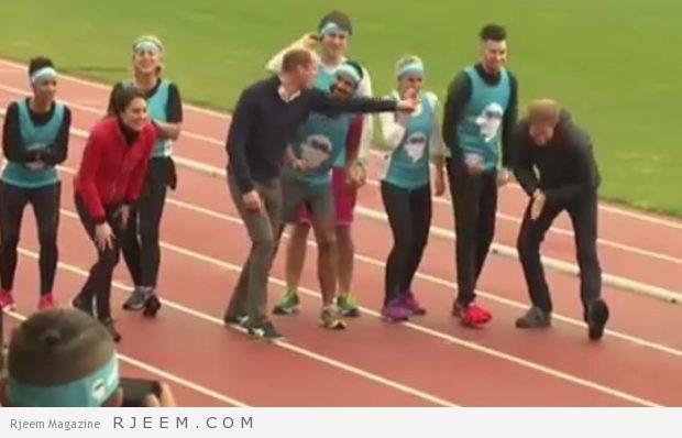 Photo of فيديو: شاهد سباق العائلة الملكية في بريطانيا