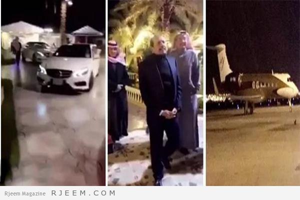 Photo of فيديو: وصول ملياردير هندي مالك أسواق مجموعة اللولو على طائرته الخاصة لمدينة حائل