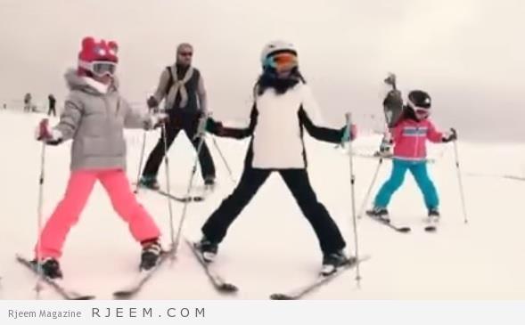 Photo of فيديو: بعد رحلة رماح.. الوليد بن طلال يبث فيديو مع عائلته خلال ممارسة التزلج بجبال النمسا