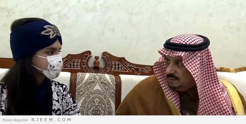 Photo of فيديو: أمير الرياض يحقق أمنية طفلة السرطان ويزورها فتكشف عن مفاجأة