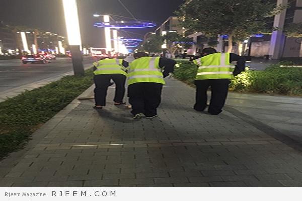 Photo of فيديو: بأمر من محمد بن راشد تنظيف شوارع دبي 4 ساعات يومياً عقوبة المتورطين بواقعة سيتي ووك