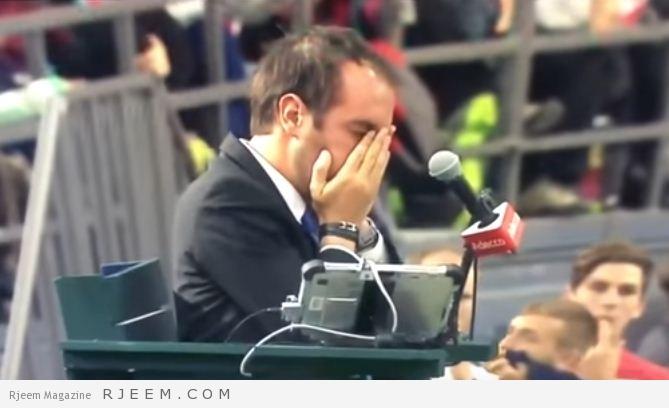 Photo of فيديو: لاعب تنس يضع كامل غضبه للخسارة في عين الحكم