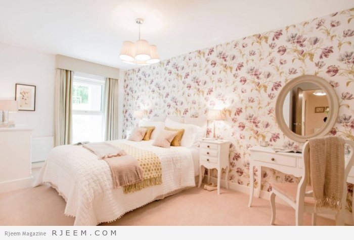 Photo of بالصور: ديكورات غرف نوم بألوان الباستيل الهادئة