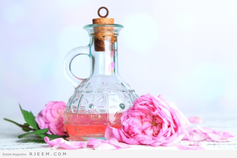 Photo of استخدامات رائعة لماء الورد للعناية بالبشرة