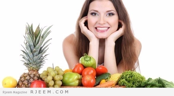 Photo of أكل الفواكه والخضروات يقلل توتر المرأة