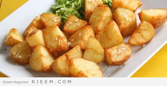 Photo of مكعبات البطاطا الشهية