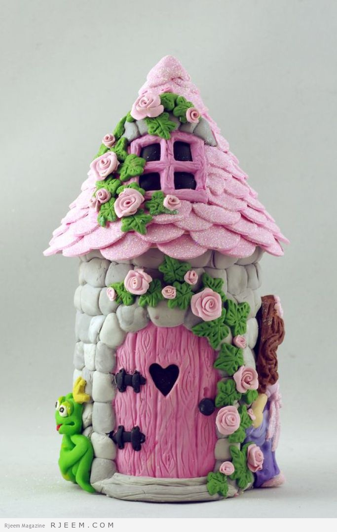 An Enchanted Castle using the Sugar Buttons moulds - how gorgeous!: