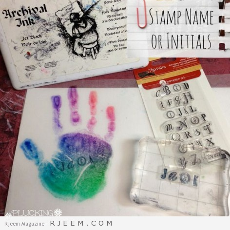 Mother's Day Craft for Kids {Handprint Charms}   Pluckingdaisies.com