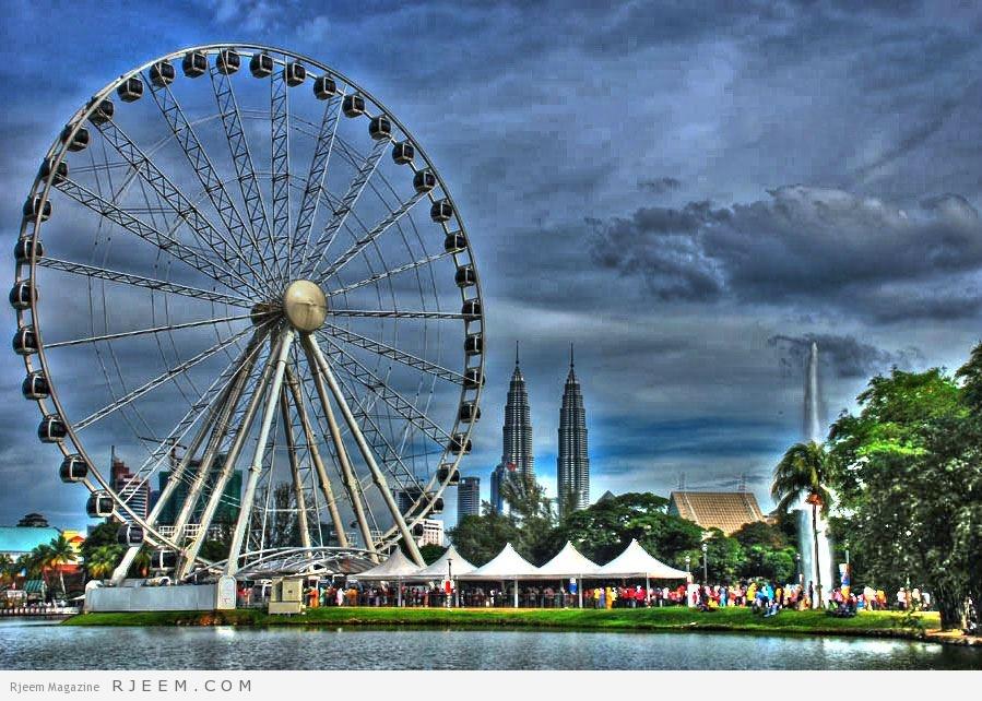 Photo of عين على ماليزيا أضخم عجلات العالم في كوالالمبور