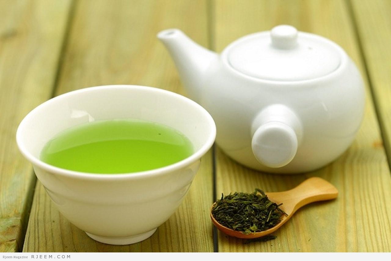 Photo of قناع الشاي الأخضر للبشرة الدهنية
