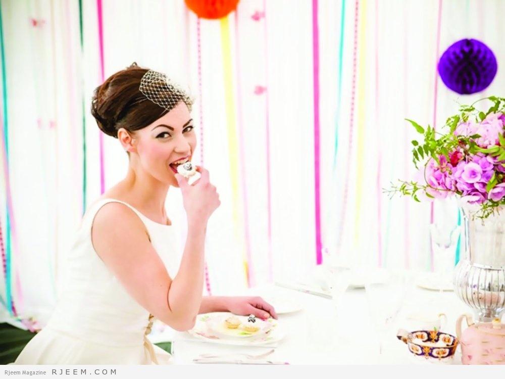 Photo of لا تتناولي هذه الأطعمة في يوم الزفاف