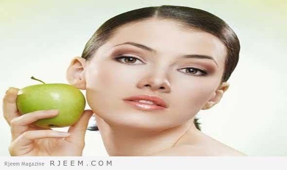 Photo of استخدمي خلطة التفاح للحصول على خدود وردية وممتلئة