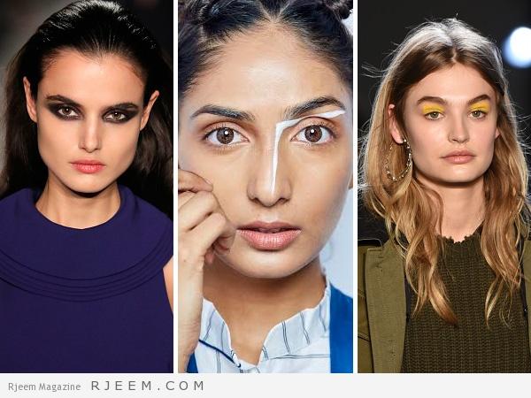 Photo of اكتشفي أبرز صيحات ماكياج العيون من أسابيع الموضة حول العالم