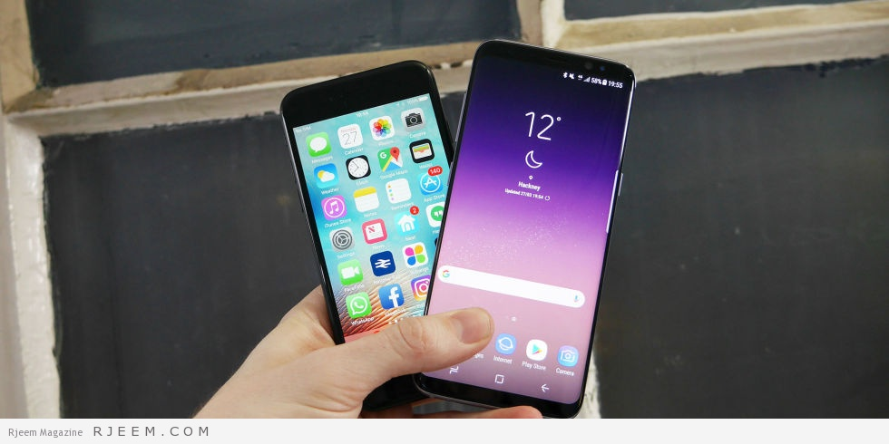 Photo of مقارنة بين هاتف سامسونج جلاكسي S8 و آيفون 7