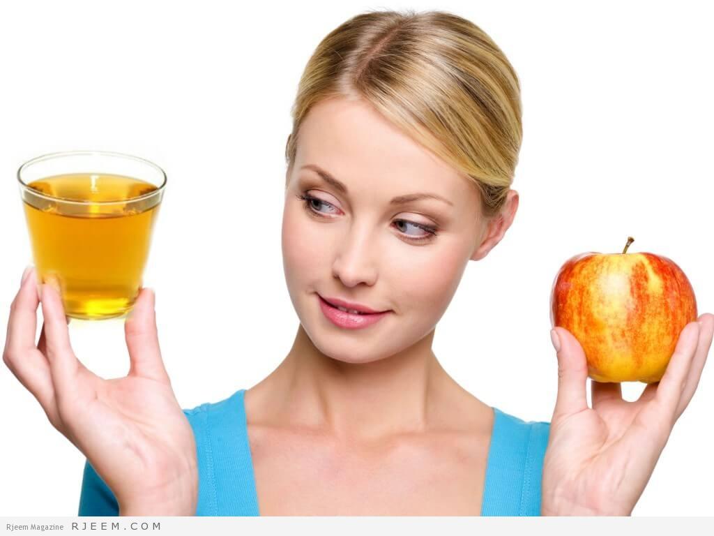 Photo of وصفة خل التفاح للتخلص من الوزن الزائد