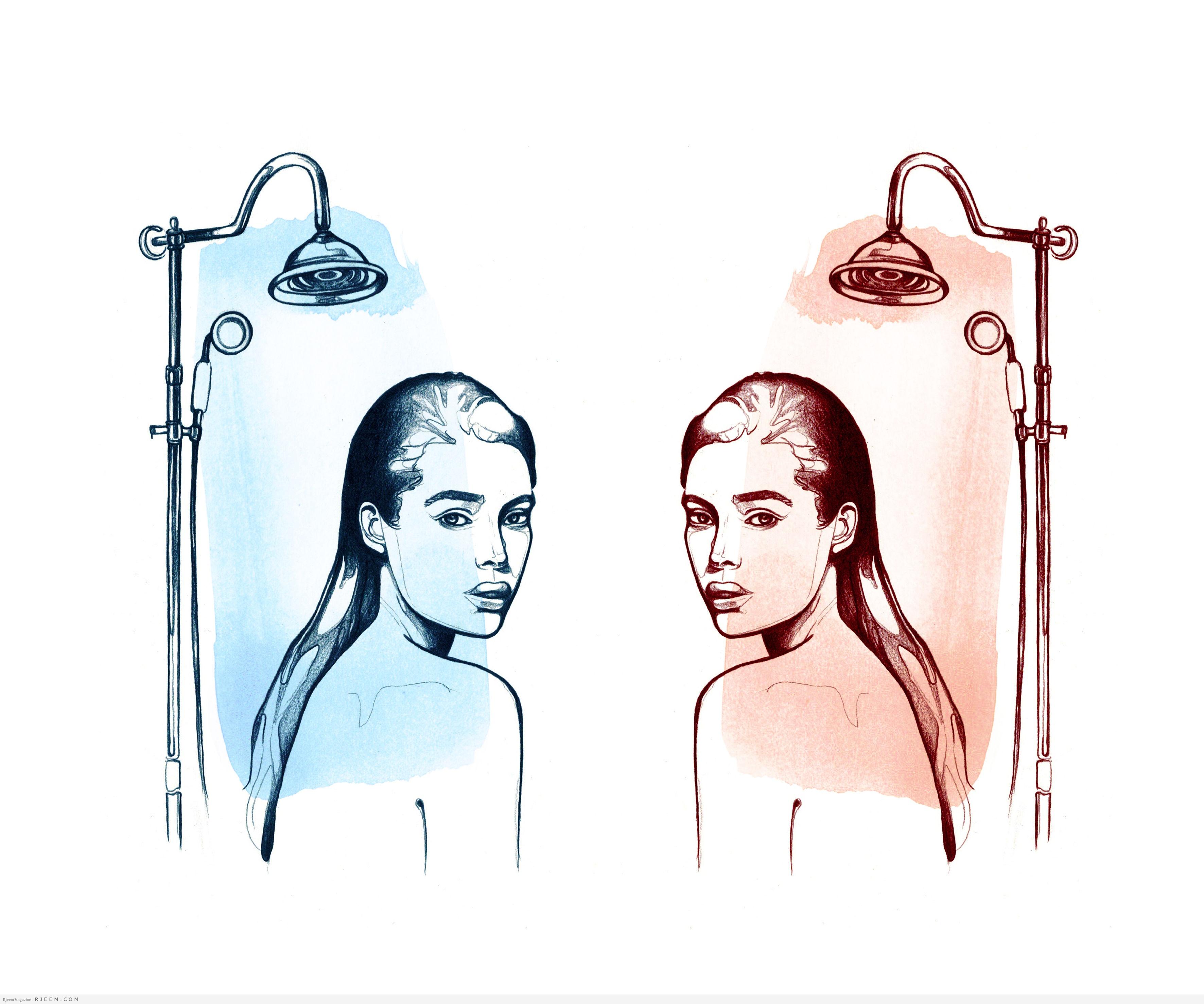 Photo of ما هو الأفضل لغسل شعرك.. الماء الساخن أم البارد؟