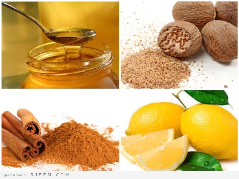 Photo of قناع القرفة والليمون وجوز الطيب والعسل للتخلص من البثور