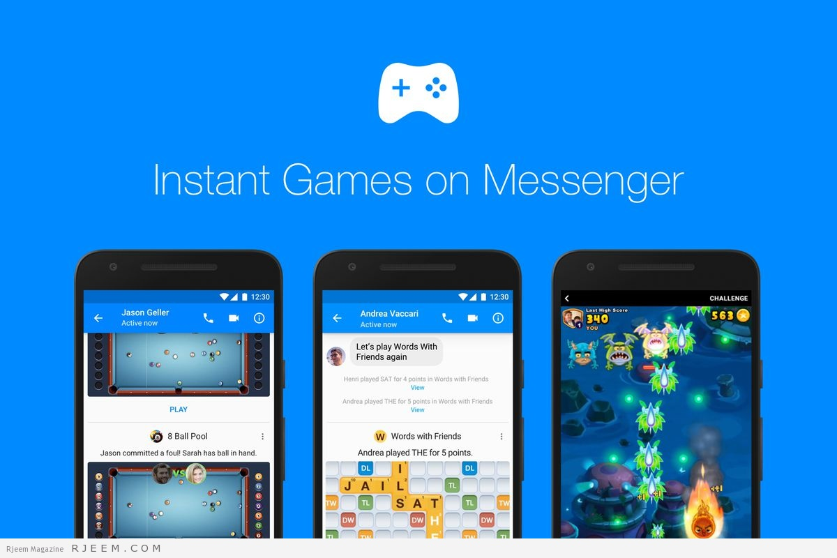 """Photo of فيسبوك تطرح منصة ألعاب عبر تطبيق """"ماسنجر"""""""