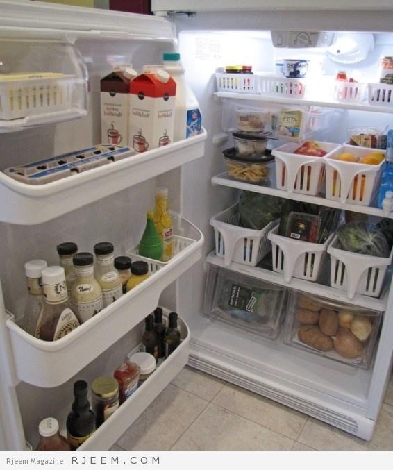 نتيجة بحث الصور عن أفضل طريقة لترتيب الثلاجة