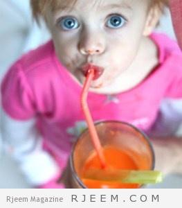 عصائر طبيعية مفيدة لصحة طفلك