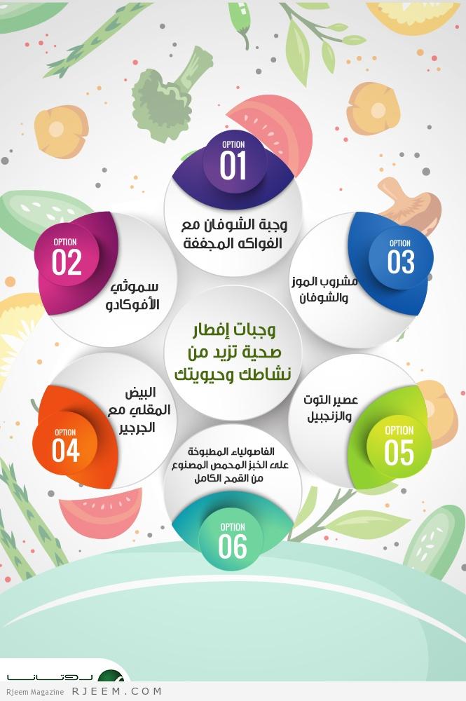 Photo of إنفوغراف.. وجبات إفطار صحية تزيد من نشاطك وحيويتك