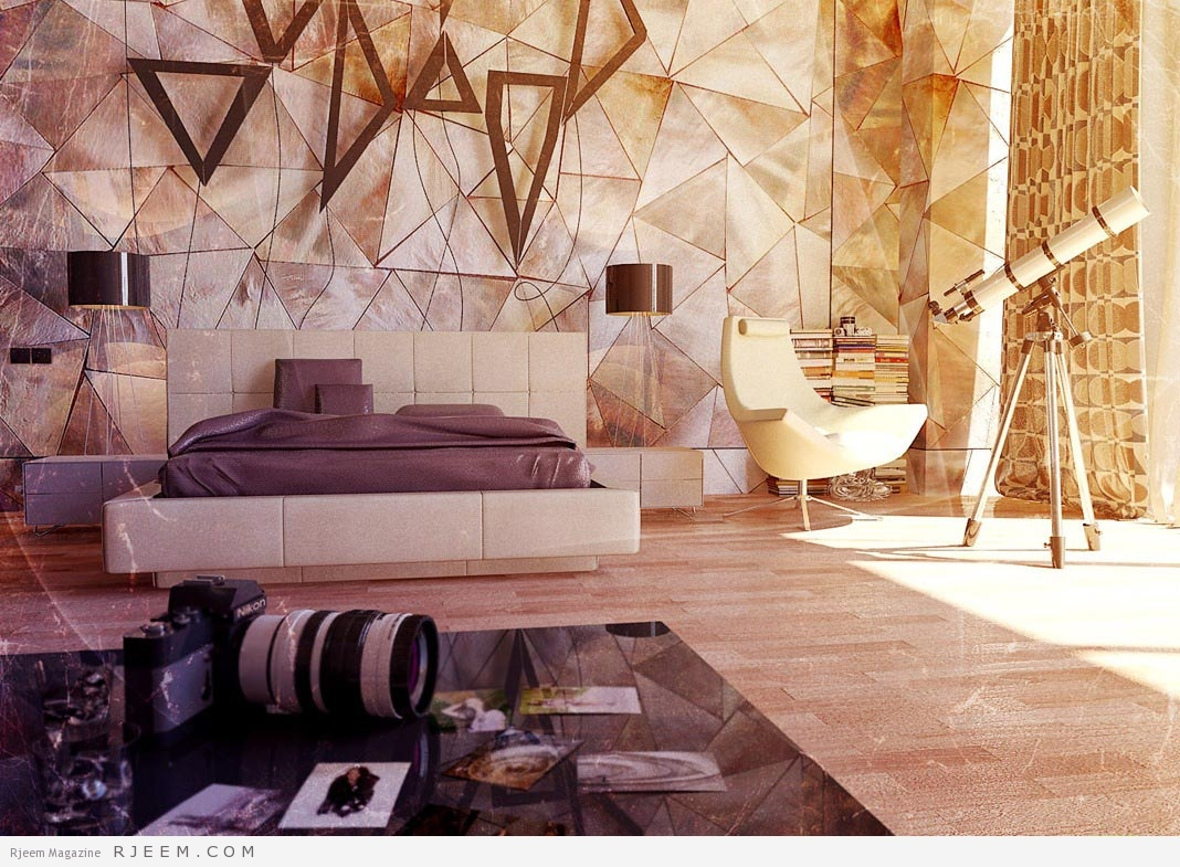 Photo of تصاميم أنيقة لجدران غرفة النوم