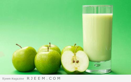 Photo of وصفات التفاح لبطن مسطحة