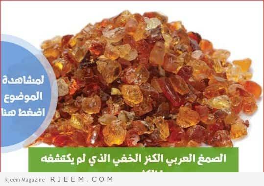Photo of الصمغ العربي