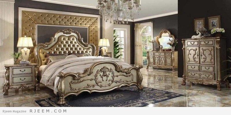 غرف نوم كلاسيك متميزة