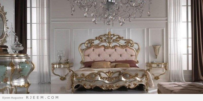 غرف نوم كلاسيك بسيطة