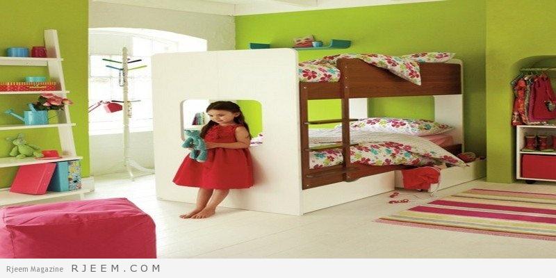 ديكورات غرف نوم بنات صغار
