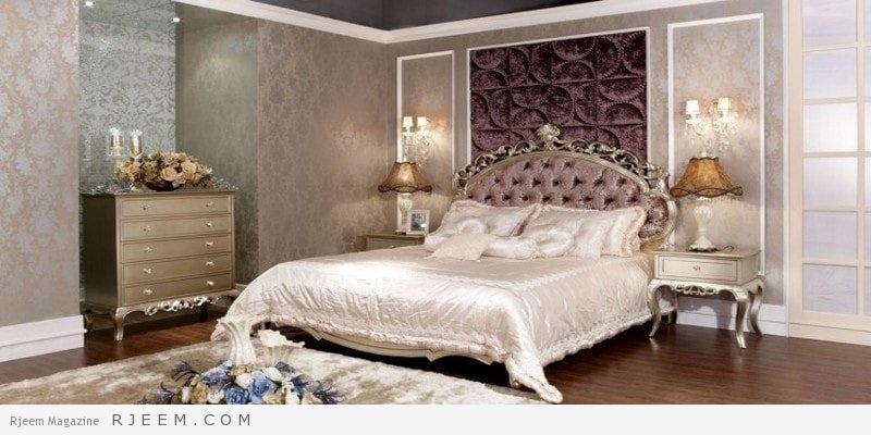 غرف نوم كلاسيك زورق رفيع