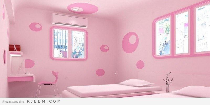 احلى ديكورات غرف نوم بنات اطفال و مراهقات كول بالوان ذاهية وجذابة
