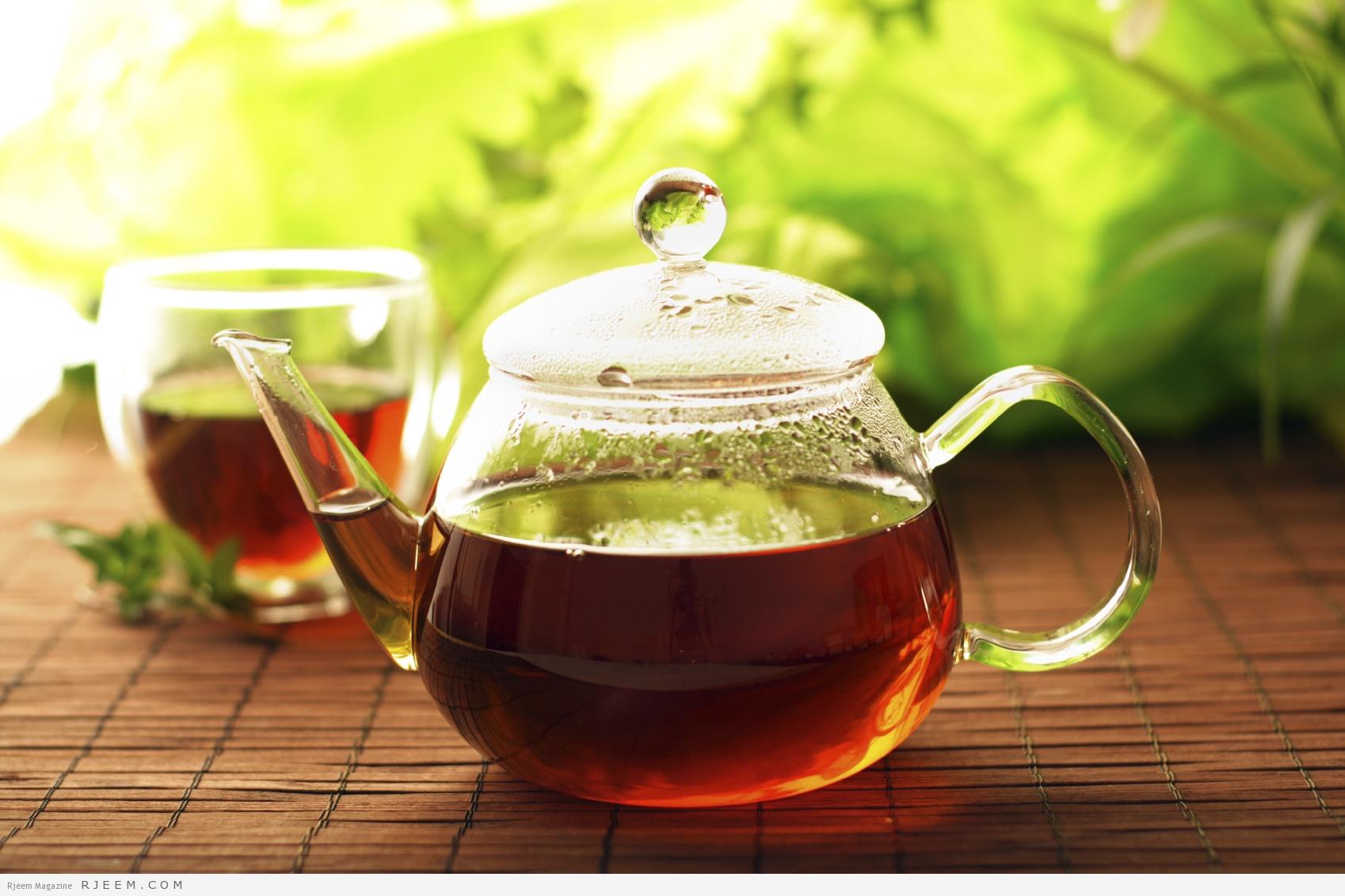 Photo of حمام الشاي الأخضر والزنجبيل للقضاء على دهون الجسم قبل الشتاء