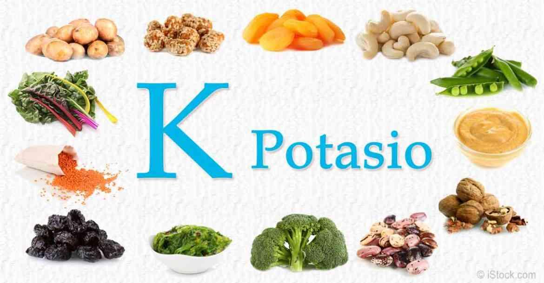 علاج نقص البوتاسيوم