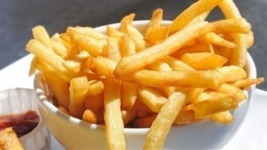 Photo of القيم الغذائية في البطاطس المقلية والمقدار الصحي منها