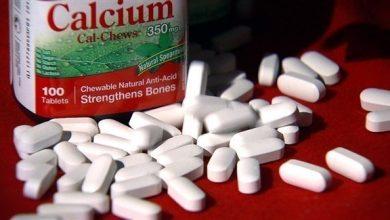 Photo of 5 آثار جانبية لتناول مكمّلات الكالسيوم