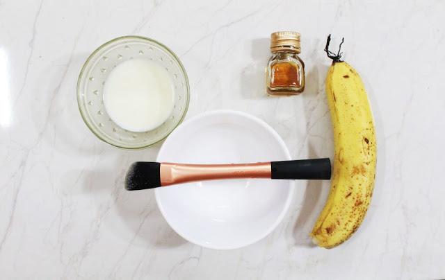 ماسك الموز للوجه