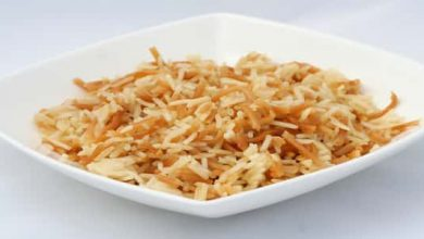Photo of طريقة عمل الأرز بالشعرية