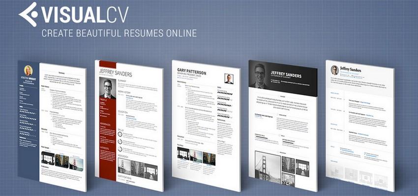 أفضل موقع لتصميم سيرة ذاتية visualcv