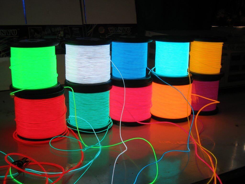 EL Wire Colors