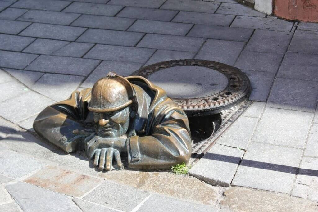 Man-At-Work-Bratislava-Slovakia
